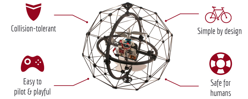 "Flyability's winning ""Gimball"" drone design"