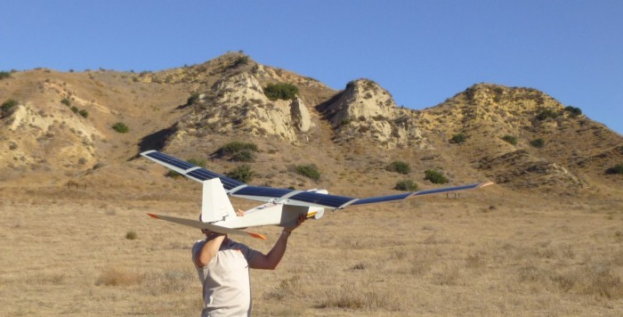 Solar Powered UAV (Image from Alta Devices website)