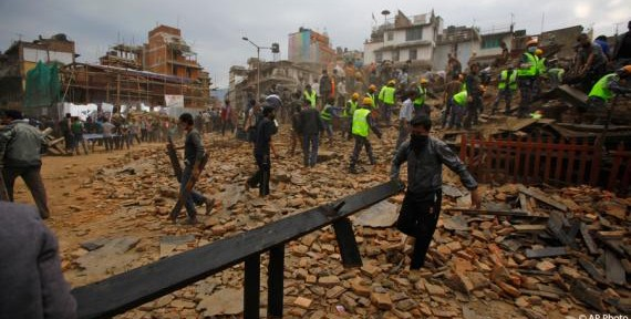 Drones Survey and Assist with the Nepal Earthquake