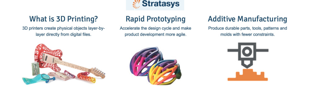 Stratasys: 3D Printing and UAS