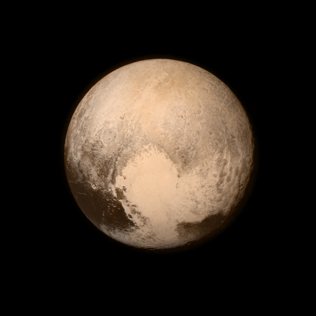 Pluto High Resolution
